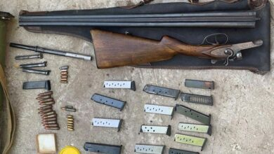 Photo of Гранатомет і карабін: у мешканця Дніпра знайшли арсенал зброї