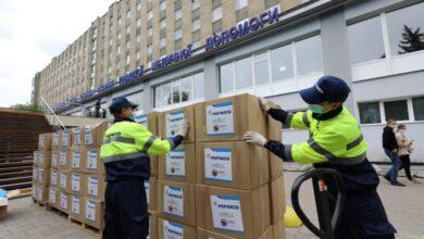 Photo of Львівська лікарня швидкої допомоги отримала від благодійників засоби захисту