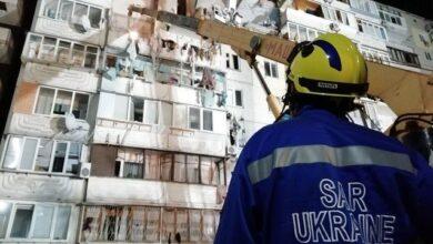 Photo of Камера зняла моменту вибуху в 10-поверхівці на Позняках