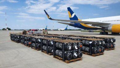 Photo of США передали Україні боєприпаси та ракети Javelin на $60 млн