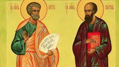 Photo of Віряни вшановують святих апостолів Петра і Павла