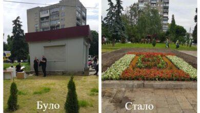 Photo of У Львові висадили квітник на місці демонтованого кіоску