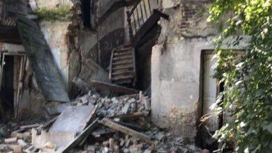 Photo of У Львові обвалилася стіна закинутої будівлі