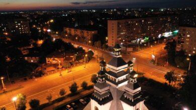 Photo of У Львові підсвітили храм Вознесіння Господнього