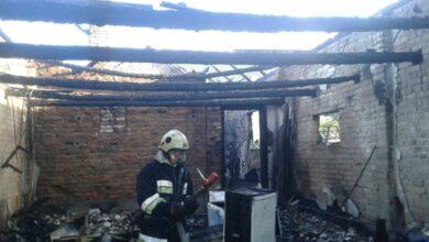 Photo of Під час пожежі на Мостищині обгоріла 48-річна жінка