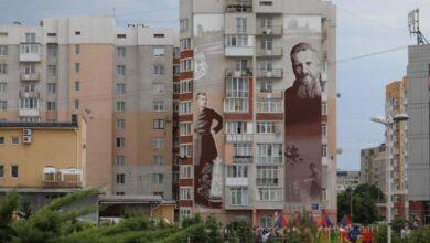 Photo of На Сихові відкрили мурал митрополита Андрея Шептицького