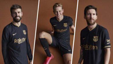 Photo of Кольори всередині: Барселона показала чорно-золоту гостьову форму