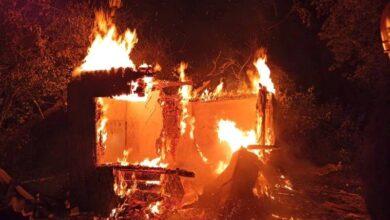 Photo of У Львові вщент згорів дачний будинок
