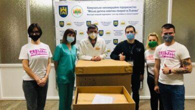 Photo of Благодійники передали лікарням Львова апарати ШВЛ