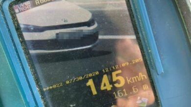 Photo of У Львові патрульні впіймали водія, котрий майже втричі перевищив швидкість