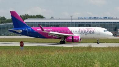 Photo of Wizz Air почав літати зі Львова до Щецина та Гамбурга, а SkyUp – до Одеси