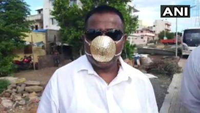 Photo of Бізнесмен придбав за $4 тис. золоту маску, яка має захистити його від Covid-19