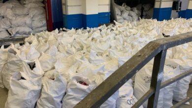 Photo of На кордоні з Польщею затримали контрабанду 11 тонн взуття