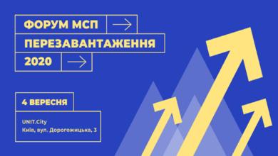 Photo of У Києві відбудеться Форум МСП Перезавантаження 2020