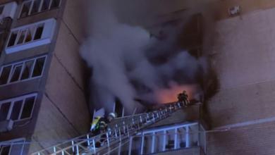 Photo of У Києві горіла багатоповерхівка, евакуювали 15 людей