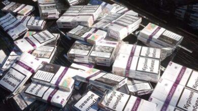 Photo of Львівські прикордонники відкопали у вагоні з рудою 6 тисяч пачок сигарет