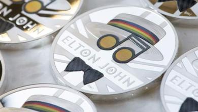 Photo of На честь Елтона Джона випустили монету вартістю £68 тис.