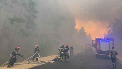 Photo of У Луганській області горять ліси, мешканців двох селищ евакуйовують