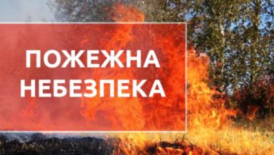 Photo of На Львівщині оголосили високу пожежну небезпеку
