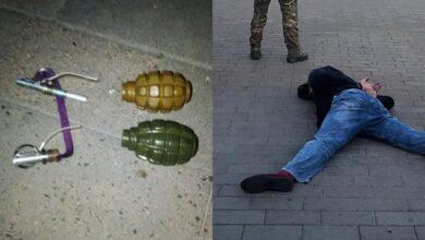 Photo of Гранати і вогнепальна зброя: що вилучили у терориста з Луцька
