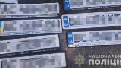 Photo of У Львові впіймали 28-річного молодика, який крав з авто номерні знаки і продавав власникам