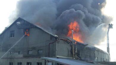 Photo of У Рясному загорілись складські приміщення