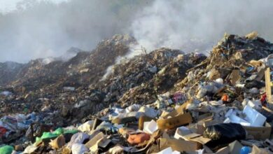 Photo of На Сокальщині загорілось сміттєзвалище
