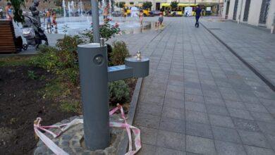 Photo of У Львові встановили ще три питні фонтани