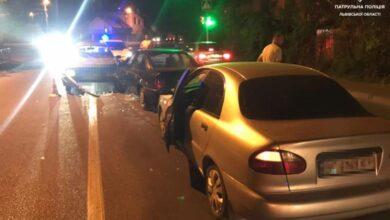Photo of Протягом ночі у Львові сталося дві ДТП за участі п'яних водіїв