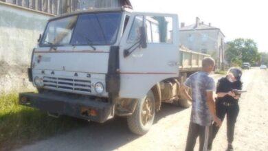 Photo of На Львівщині затримали вантажівку з гравієм