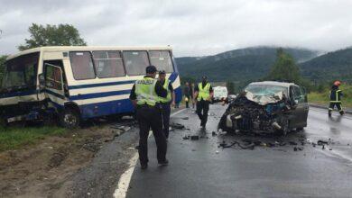 Photo of На Сколівщині зіткнулись автобус та легковик: є загиблі та травмовані
