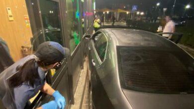Photo of П'яний львів'янин врізався у стіну McDonalds на Чорновола