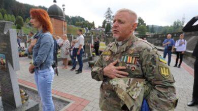 Photo of На Личаківському кладовищі вшанували пам'ять загиблих українських воїнів