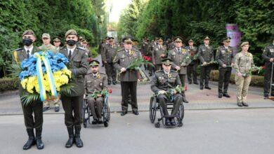 Photo of В Академії сухопутних військ вшанували пам'ять загиблих побратимів