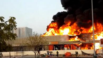 Photo of В Аджмані спалахнула потужна пожежа: горить ринок