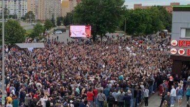Photo of Протести у Білорусі 13 серпня: катування затриманих у СІЗО та заява Лукашенка