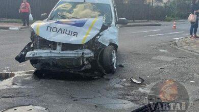 Photo of У Стрию поліцейські під час переслідування порушника потрапили в ДТП