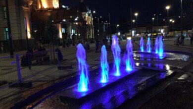 Photo of На площі Двірцевій тестують новий фонтан