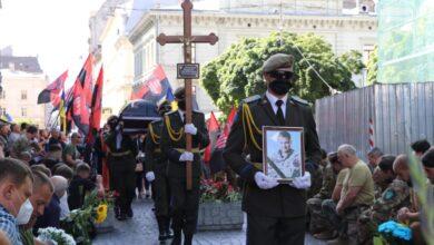 Photo of Львів прощається із заступником командира УДА Андрієм Гергертом
