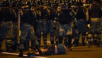 Photo of Під час протестів у Білорусі правоохоронці затримали вже майже 7 тисяч людей