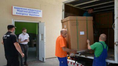 Photo of Лікарні швидкої допомоги передали 5 апаратів ШВЛ