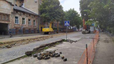 Photo of Ремонт дороги від церкви Анни до вулиці Ярослава Мудрого планують завершити до кінця осені