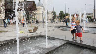 Photo of На площі Двірцевій запрацював новий фонтан