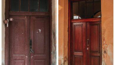 Photo of У будинку біля Цитаделі відновили старовинну браму. Фото до і після
