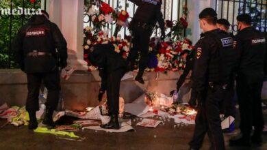Photo of Московська поліція розтоплатала меморіал біля посольства Білорусі