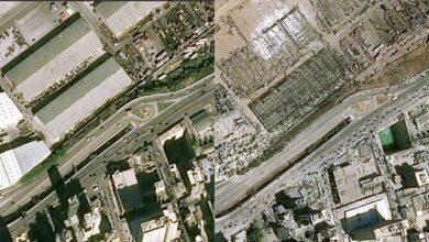 Photo of На місці порту гори попелу: фото Бейрута з космосу до і після вибуху