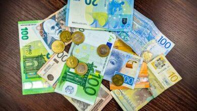 Photo of Євро здорожчав на 24 копійки: курс валют на 3 серпня
