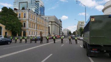 Photo of Перші відео і фото захоплення банку в бізнес-центрі Леонардо в Києві
