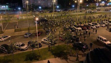 Photo of Друга протестна ніч у Білорусі: силовики знову жорстоко розганяли людей