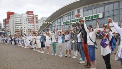 Photo of Не шкодуй мене – бий! У Білорусі розпочалися масові акції протесту